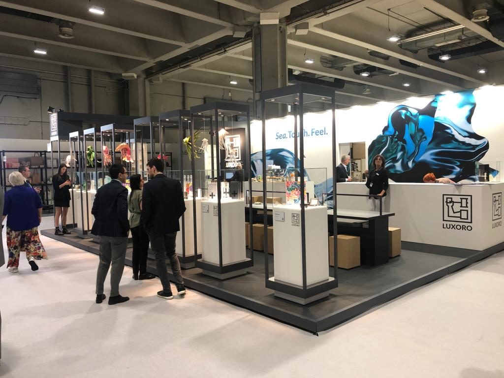Allestimento stand Luxoro Packaging Première 2019
